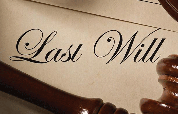 How to draw up a will