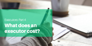 What does an executor cost