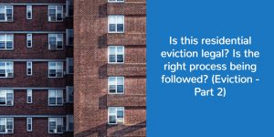 residential eviction