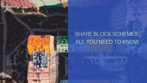 Share blocks